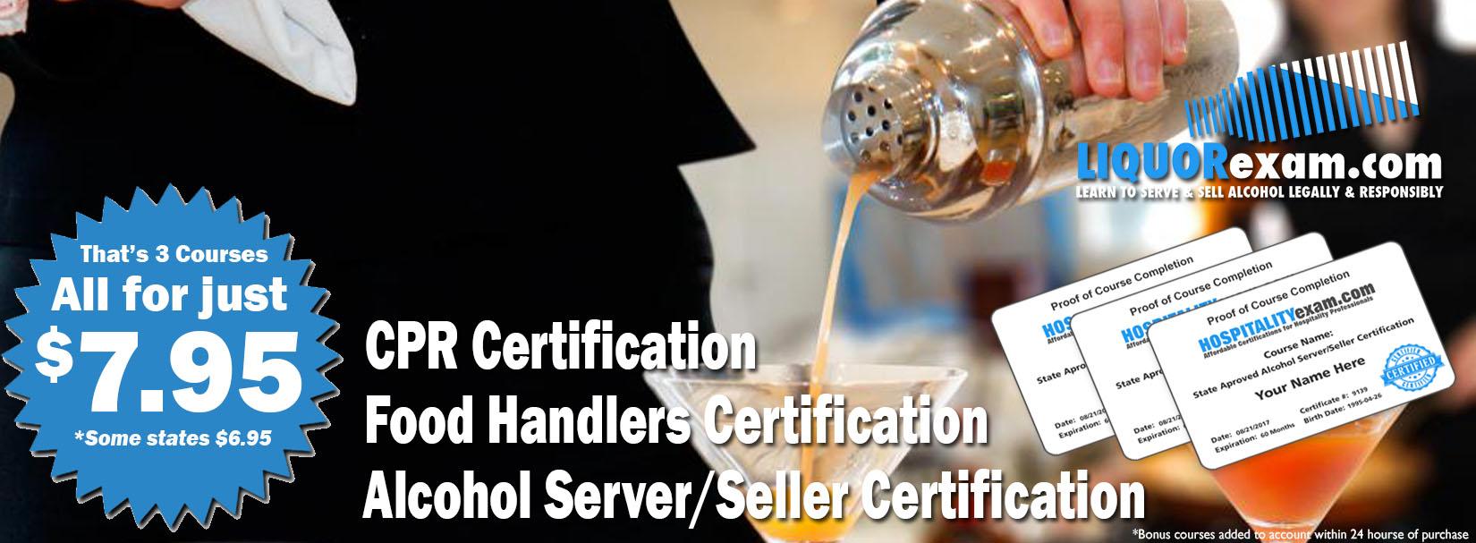Liquorexam 795 Nevada Alcohol Serverseller Certification